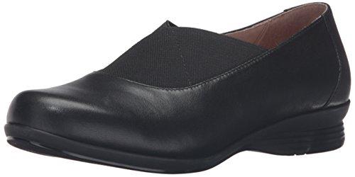 Dansko Women's Ann Flat, Black Nappa, 42 EU/11.5-12 M - Footwear Nappa Black Suede
