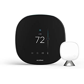 ecobee4 Smart Thermostat with Built-In Alexa, Room Sensor ...