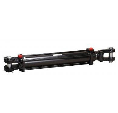 "Mighty Double Acting Hydraulic Tie Rod Cylinder 3.5"" Bore x 16"" Stroke"