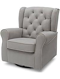 delta furniture emerson upholstered glider - Nursery Glider Recliner