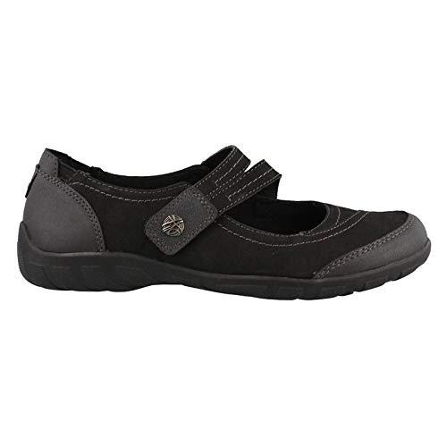 Earth Origins Women's, Rory Slip on Shoes Black 7.5 M