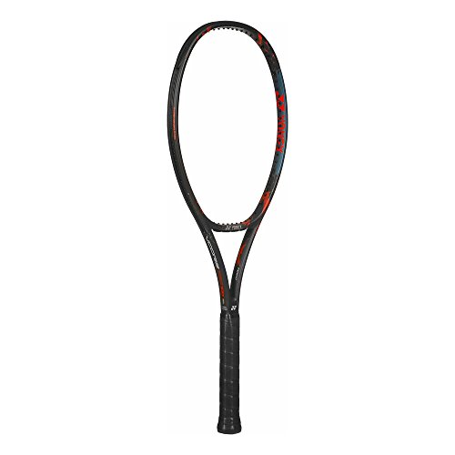 - Yonex VCORE Pro 100 (300g) Black/Blue/Orange Tennis Racquet (4 1/2 Grip) Strung with Natural Color String (Frances Tiafoe and Stan Warwinka's Racket)