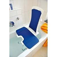Badewannenlifter Bellavita mit Classic Bezug blau und 5 Jahre Garantie