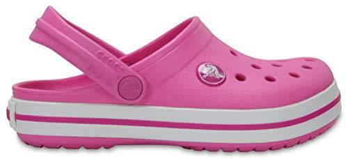 Sandália, Crocs, Crocband Kids, Party Pink, 24/25, Criança Unissex