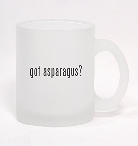 got asparagus? - Frosted Glass Coffee Mug 10oz