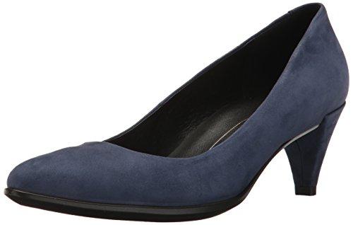 Ecco 45 Shape Femme Bleu Blue Escarpins Iris 45 Pointy EU Sleek rrg5wOqSf