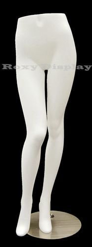 (MD-FL9) ROXY DISPLAY Female Mannequin Legs With beautiful long legs. Fiberglass material. Steel base included. by Roxy Display