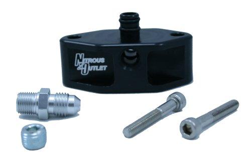 Nitrous Outlet 99-04 4.6/5.4L 2V Ford Billet Fuel Rail Adaptor by Nitrous Outlet (Image #1)
