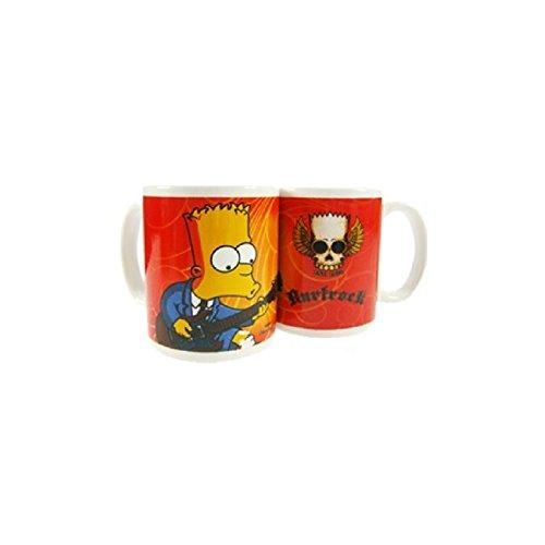 Taza cerámica de desayuno y café Bart Guitarhttps://amzn.to/2SEUcjz