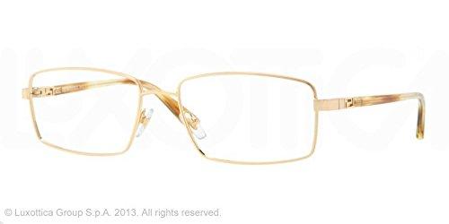 7cde6845c93 Versace Eyeglasses Ve 1198 1002 Gold 55Mm  Amazon.co.uk  Clothing