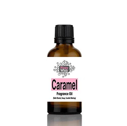 10ml Fragrance Oil - Candle, Bath bomb, Soap, Bath Salts, cosmetic Making fragrant Scent (30. Caramel) NA