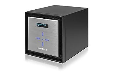 NETGEAR ReadyNAS 526X High Performance 6-Bay 2x10GbE Network Attached Storage, 6 x 3TB Desktop HD (RN526XD3-100NES)