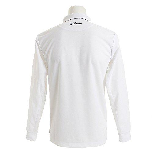 タイトリスト TITLEIST 長袖シャツ?ポロシャツ 鹿の子×メッシュ長袖ポロシャツ