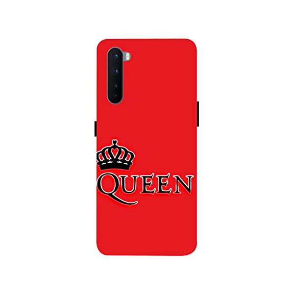 LETAPS Printed Mobile Back Hard Case Cover for OnePlus Nord/OnePlus Z (Red Solid, Solid, Plain Colour, Queen F) 2021 August Covers are made with high quality, premium hard Polycarbonate material with fully matte finish for upgraded style and durability. Complete access to all features of the device including microphones, speakers, cameras, sensors and all buttons. Our cases are made with high precision moulds covering sides and corners properly with highly accurate cut-outs for all ports and buttons.