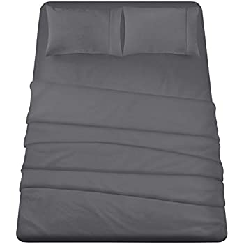 Utopia Bedding 4-Piece Full Bed Sheet Set (Grey)