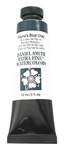 Daniel Smith 284600235DANIEL SMITH Extra Fine Watercolor 15ml Paint Tube, Payne's Blue Gray