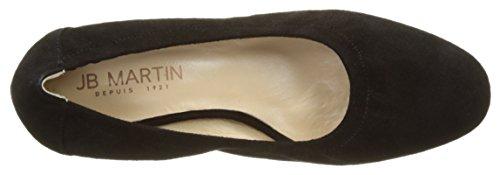 Jb Martin Damen 1karine Ballerinas Noir (Chevre Velours Noir)