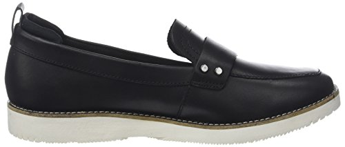 Hush Puppies Damen Loafer Mokassin Noir (noir)