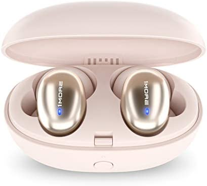 1MORE Stylish True Wireless in-Ear Headphones - Bluetooth - 6.5 Hours of Battery - 15-Minute Quick Charge for three Hours of Use – Portable Charging Headphone Case Included - True Wireless Earphones