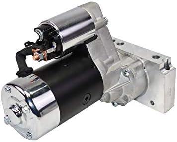 A-Team Performance スモールブロック ビッグブロック 3.0 HP ハイトルクスターター シボレーBB GEN.II V V8 SB GEN対応 I V8、ブラック。