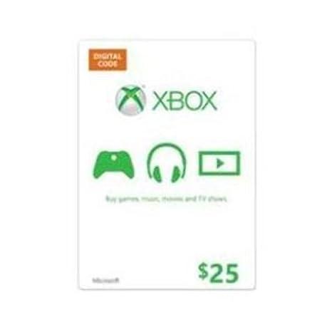 Microsoft Xbox - GC Xbox Live Medialess 25 USD
