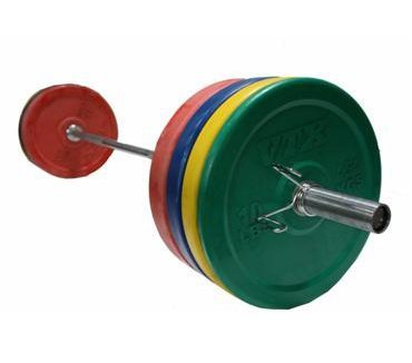 Ultra-Durable Bumper Plates Set