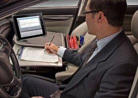 Mobile Desk Auto Exec