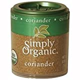 Simply Organic Coriander Seed Ground Certified Organic, 0.35-Ounce Containers (Pack of 6) ( Value Bulk Multi-pack)