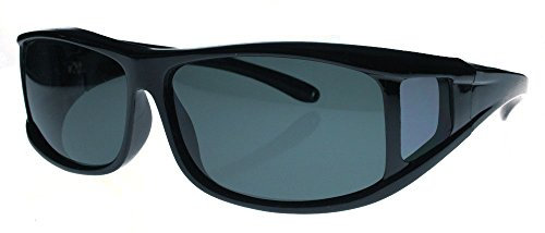 Fiore Polarized and Non-Polarized Fit Over Lens Cover Sunglasses Fitsover Glasses