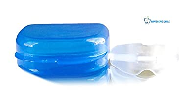 Sleep Aid Mouth Guard Natural Solution OTC Device - Anti Teeth Grinding Nightguard - Custom Mold - Best Dental Mouth Guard on the Market - Order Now RISK FREE