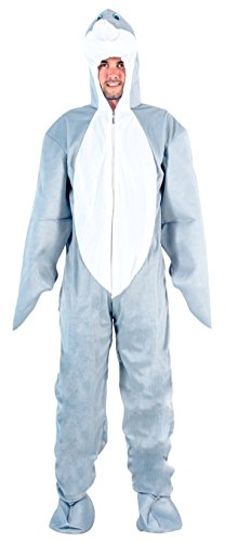 Adult Open Face Bodysuit Dolphin Costume