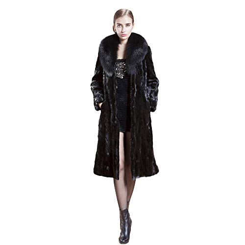 HHei_K Womens Winter Warm Fashion Loose Long Sleeve Solid Faux Fur Coat Casual Open Front Parka Outerwear Cardigans