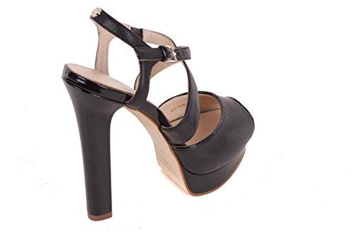 Bs26 Highheels Pumput Naisten Narusandaalit Versace Musta 80fwqA