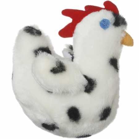 Multipet Look Who's Talking Dog Toy, Chicken (Talking Look Whos Chicken)