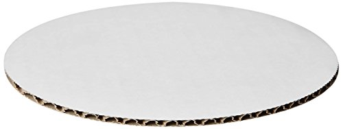 W PACKAGING WPDWC12 Double Wall Cake Circles, Non Grease Pro