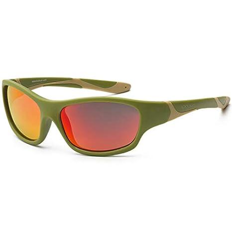 koolsun Niños Gafas de sol Sport 6 - 10 años, Army Green ...