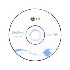 3,000pcs LG Brand DVD-R 16x 120min 4.7GB Logo printed Top Premium Quality
