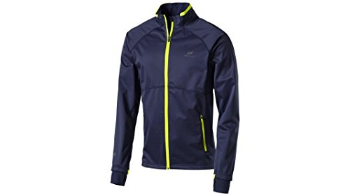 Intersport Men's PRO TOUCH Ridley Soft Shell Jacket III - Patriot Blue/neongel by Intersport