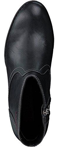 S.oliver 5-5-25359-29 Modieuze Dames Sokje, Bootie, Laarzen, Rits Aan De Zijkant Zwart