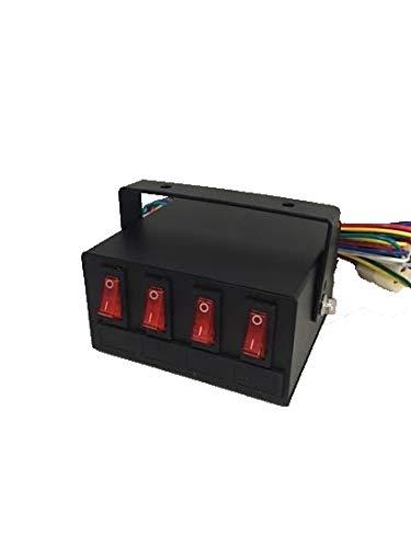 amazon com superior led light switch box control unit fuse fuse board fuse box switches – atlantiscoin co