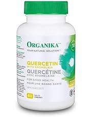 Organika QUERCETIN WITH BROMELAIN 120 CAPLETS