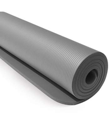 YOOMAT 10mm Sport Yoga Matte Rutschfeste nbr multifunktionale Pilates matten für Fitness Gym gürtel für Sport übung trainingsmatte 183 cm  61 cm
