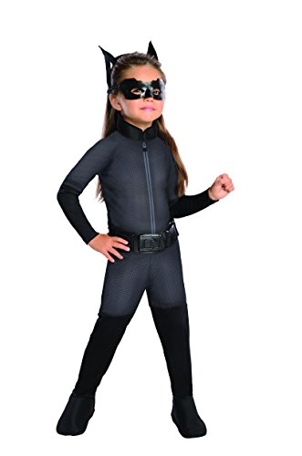 Batman The Dark Knight Rises Toddler Catwoman Costume, Multi-Colored, 1-2 (Batman And Catwoman Costumes)