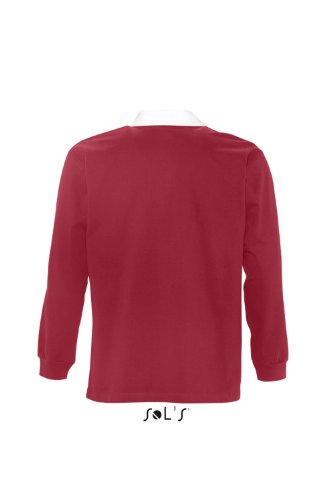 SOL´S Rugbyshirt Pack, Größe:XL, Farbe:Carmine Red/White
