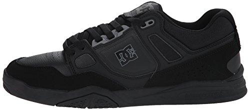 DC Stag 2 Hombre Negro Piel Deportivas Zapatos Talla Nuevo EU 39