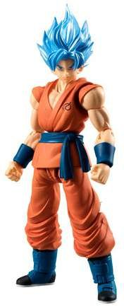 Bandai Action Figures Toy - Bandai Shokugan Shodo Dragon Ball Z Super Saiyan God SS Son Goku Action Figure