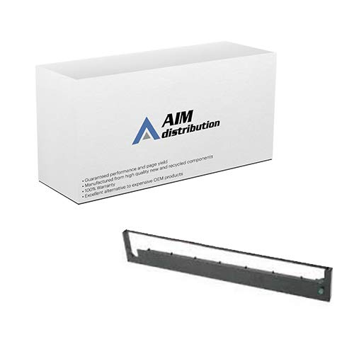 AIM Compatible Replacement for HP 2235/Ruggedwriter 480 Black Printer Ribbons (6/PK) (92156S) - Generic ()