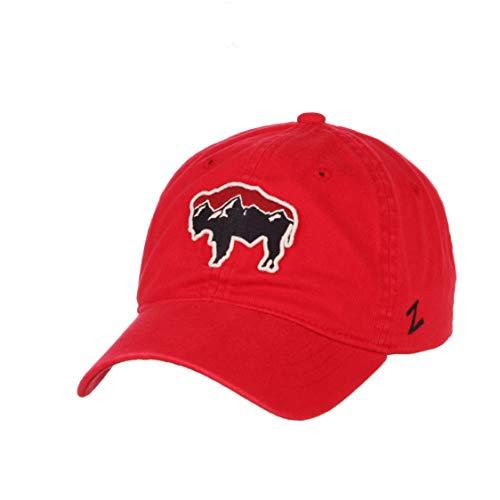 (Buffalo Adjustable Red Dad Hat)