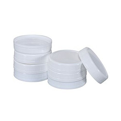 Regular Mouth Canning Jar Lids - 8 Count (Plastic Canning Lids compare prices)