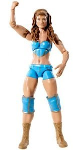 WWE Eve Torres Divas Mattel Figure Series 11 Wrestler First In Line Turqoise Outfit (Wwe Diva Outfits)